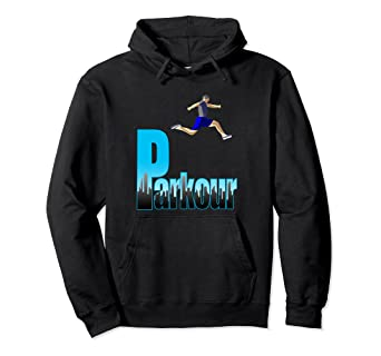 a1eb00de2473ca Image Unavailable. Image not available for. Color  Parkour Urban Free  Running Pullover Hoodie