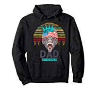 Funny Fathers Day Best Dad Ever Gorilla 4th Of July Premium T-shirt Hoodie Black