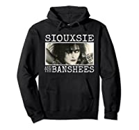 Siouxsie And The Banshee Siouxsie Sioux T Shirt Hoodie Black