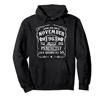 Amazon November 1963 Retro Shirt Vintage 55th Birthday