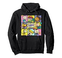 Rugrats Retro Box T-shirt Hoodie Black