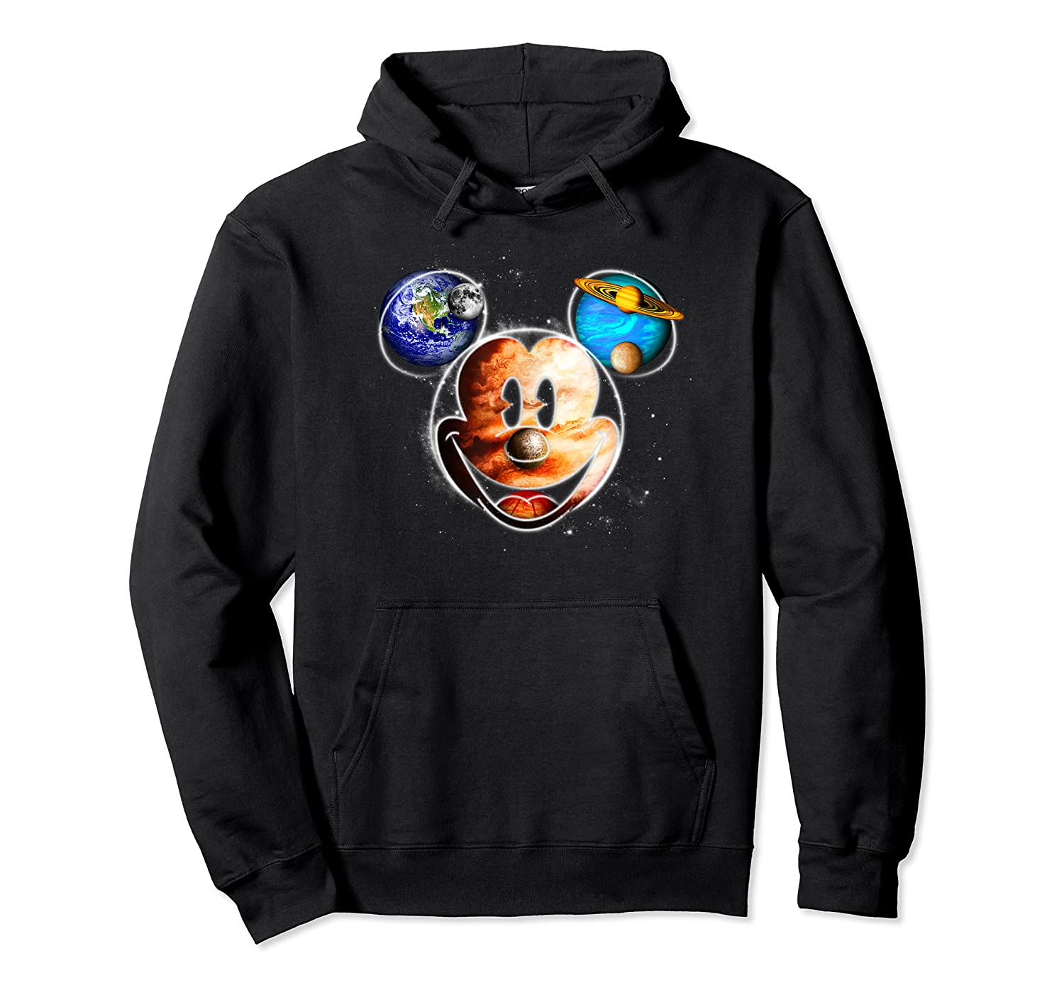 Disney Mckey Mouse Universe T Shirt Unisex Pullover Hoodie