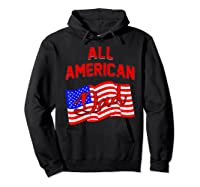 All American Dad 4th Of July Independence Day Shirts Hoodie Black