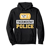 Thermostat Police T-shirt Hoodie Black