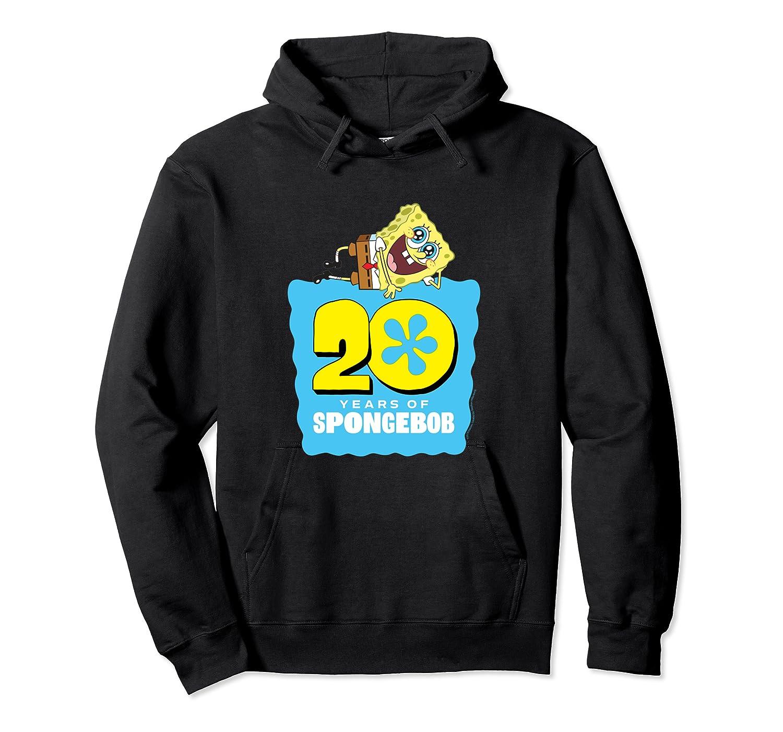 Spongebob Squarepants 20 Years Of Spongebob T-shirt Unisex Pullover Hoodie