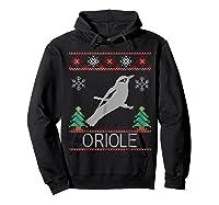 Oriole Christmas Shirts Hoodie Black