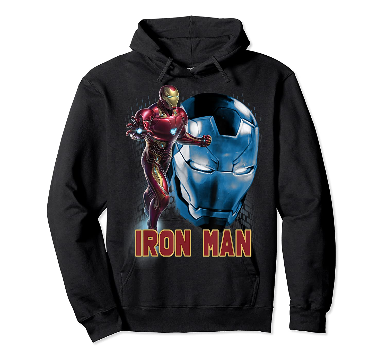 Avengers Endgame Iron Man Side Profile Graphic Shirts Unisex Pullover Hoodie