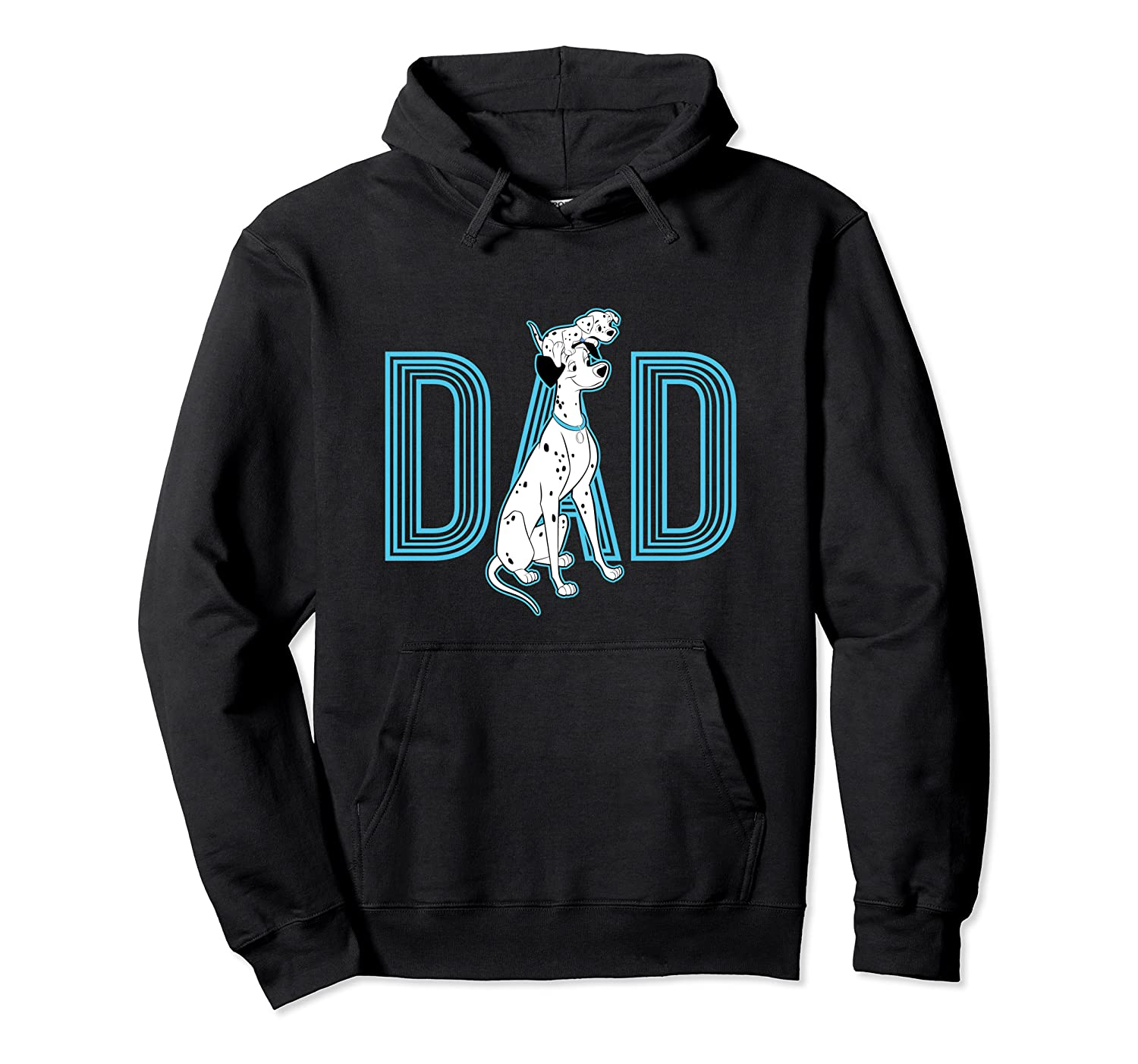101 Dalmatians Pongo And Penny Dad Shirts Unisex Pullover Hoodie