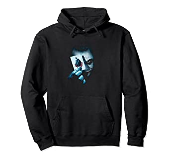95a0a513b Image Unavailable. Image not available for. Color: Batman Dark Knight Joker  Pullover Hoodie