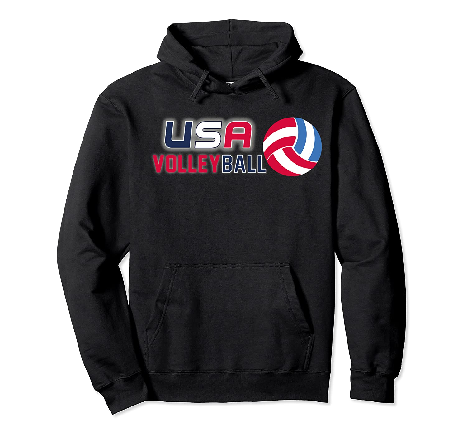 Usa And Volleyball For Athletes Shirts Unisex Pullover Hoodie