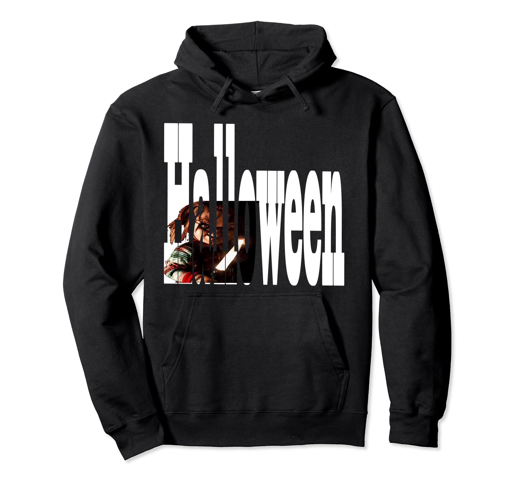 Halloween Chucky Hoodie Shirt-Veotee