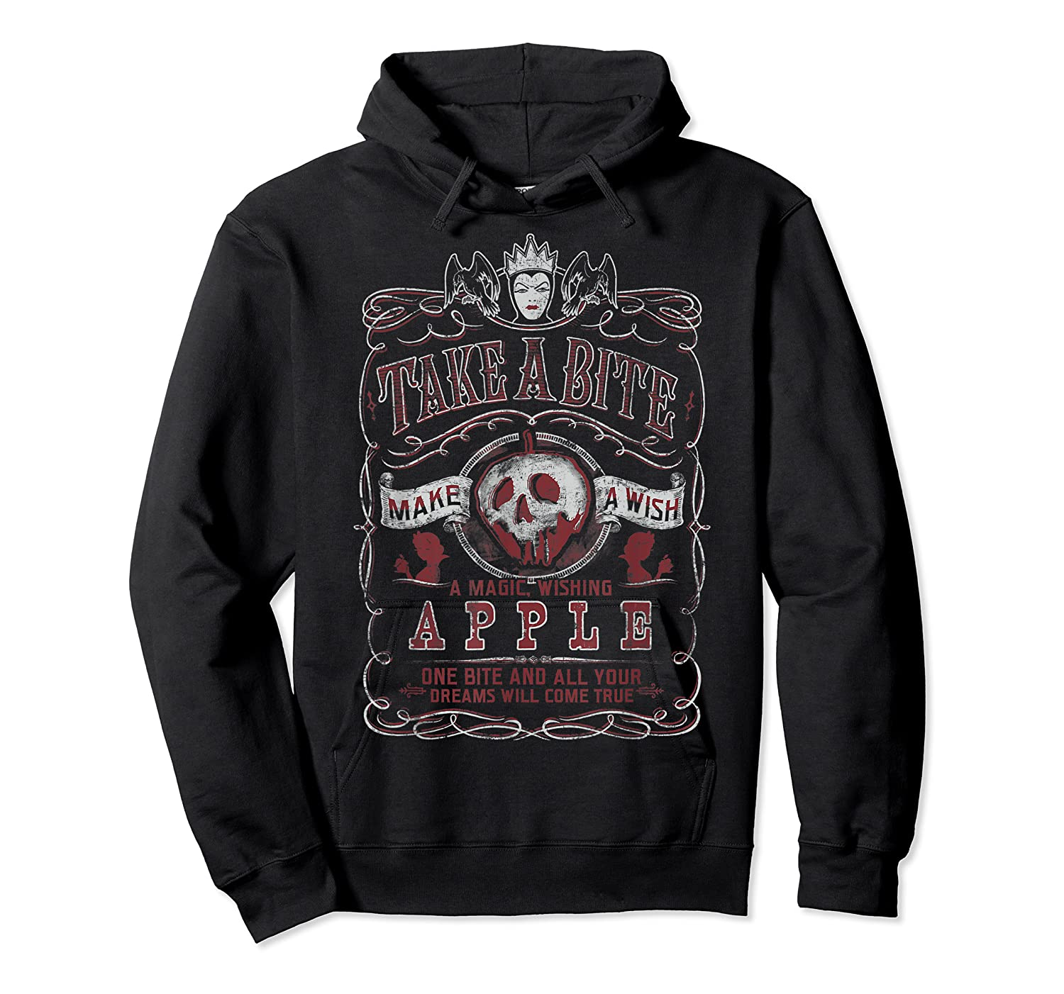 Snow Take A Bite Vintage Poster Shirts Unisex Pullover Hoodie