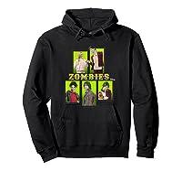 Disney Zombies Zomb5 T Shirt Hoodie Black