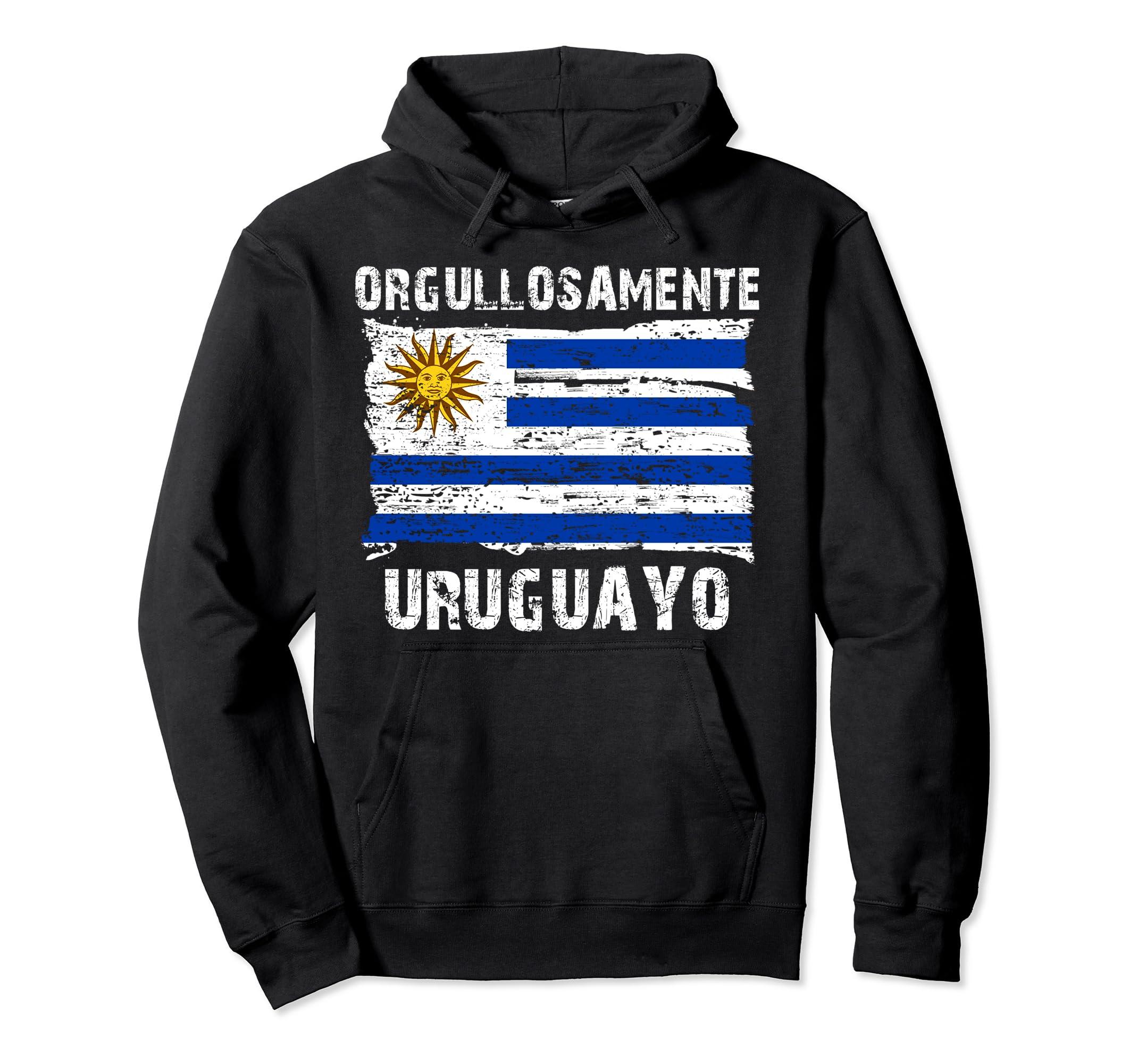 Amazon.com: Orgullosamente Uruguayo Sudadera para hombres y mujeres: Clothing