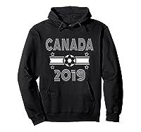 Retro Canada Soccer Team 2019 Shirts Hoodie Black