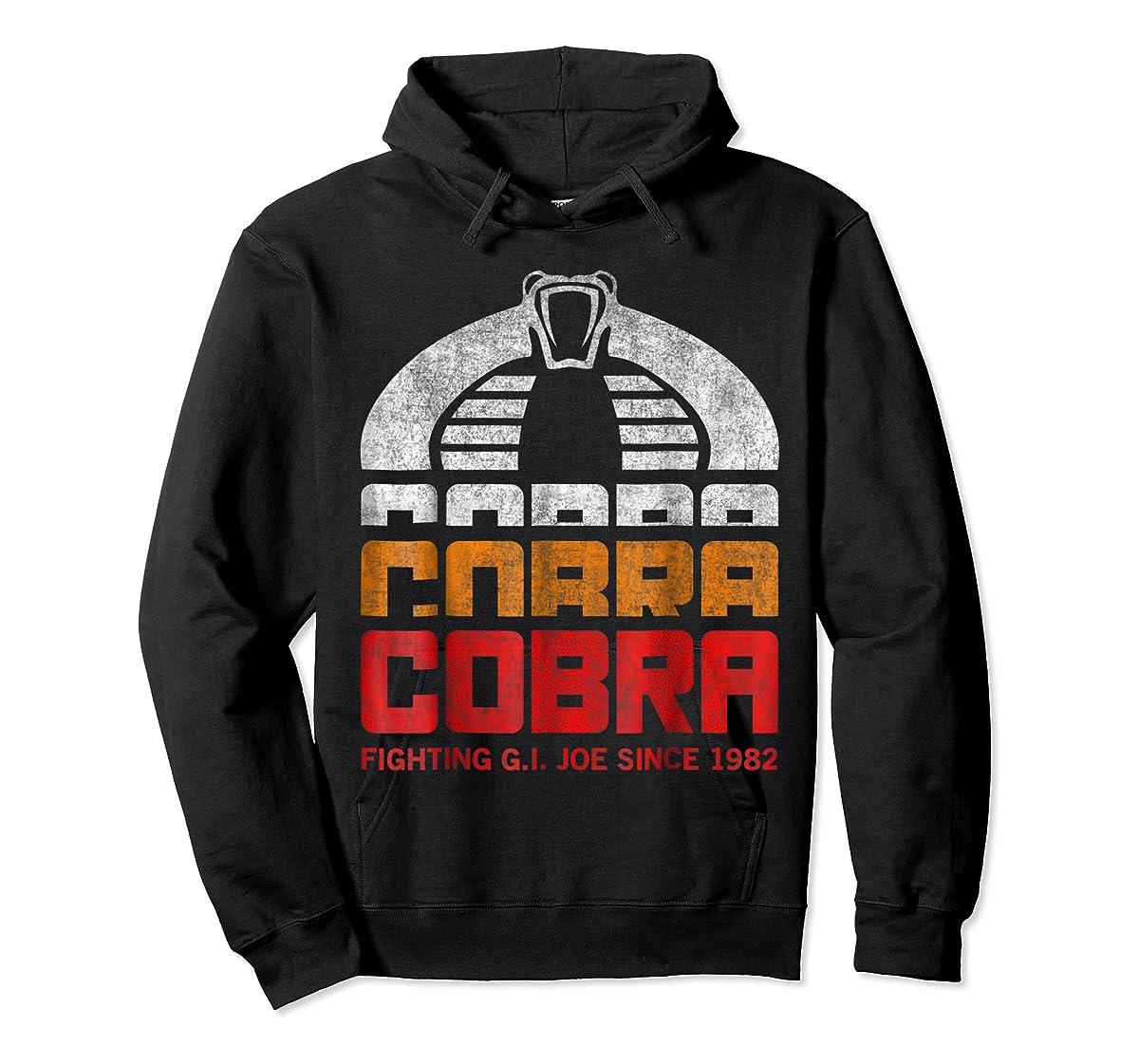 G.I. Joe Retro Cobra Fighting Since 1982 T-Shirt-Hoodie-Black
