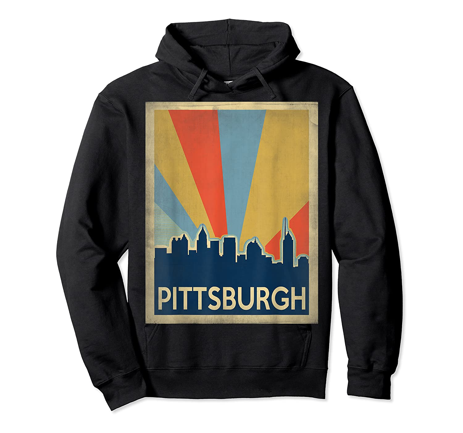 Classic Pittsburgh Shirts Unisex Pullover Hoodie