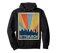 Classic Pittsburgh Shirts Hoodie Black