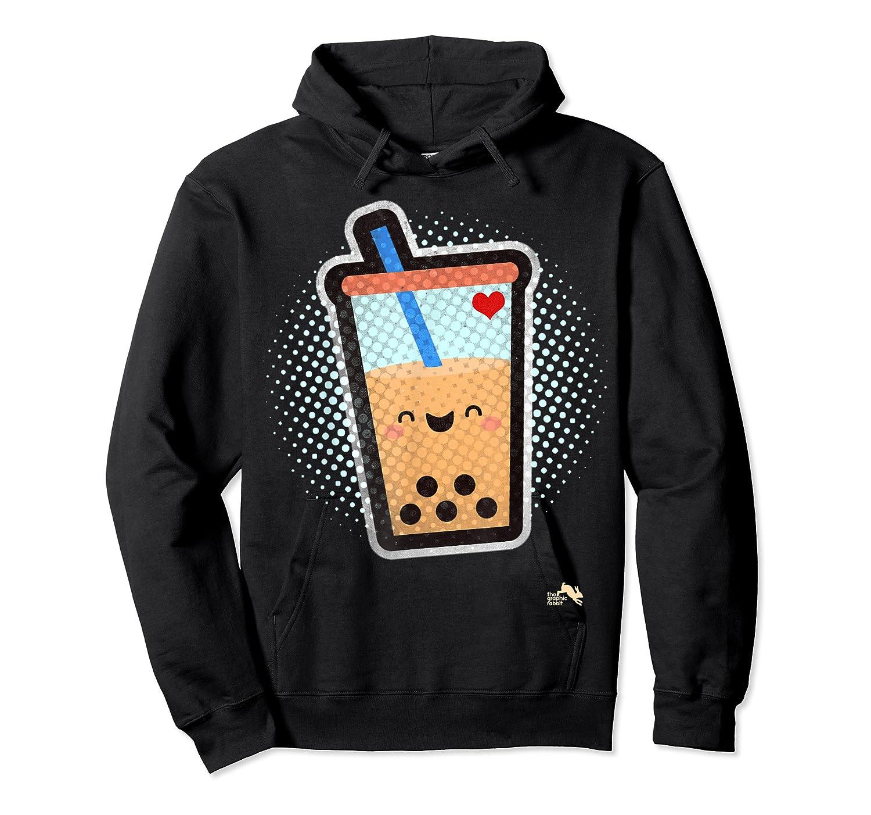 Boba Milk Tea Bubbles T-shirt Unisex Pullover Hoodie