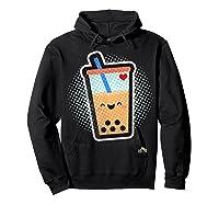 Boba Milk Tea Bubbles T-shirt Hoodie Black