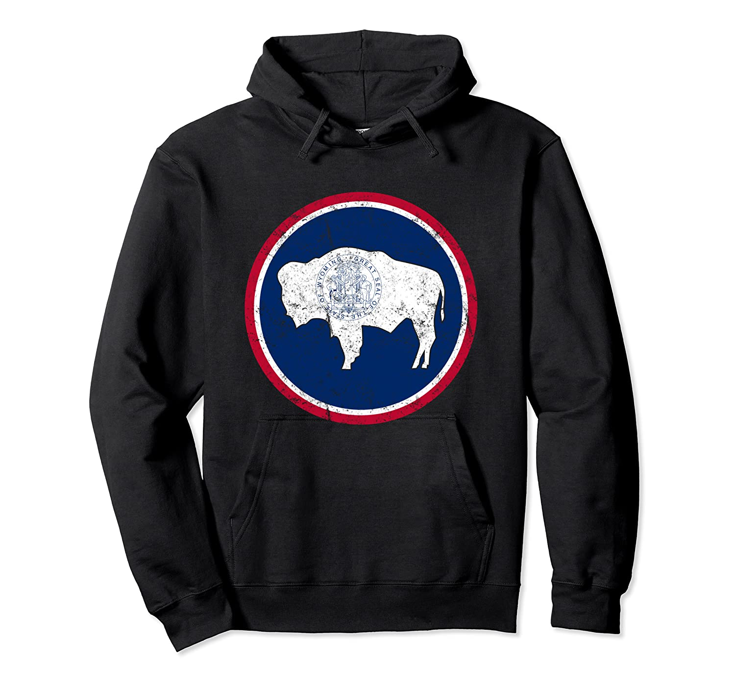 Wing State Flag Patriotic Shirts Unisex Pullover Hoodie