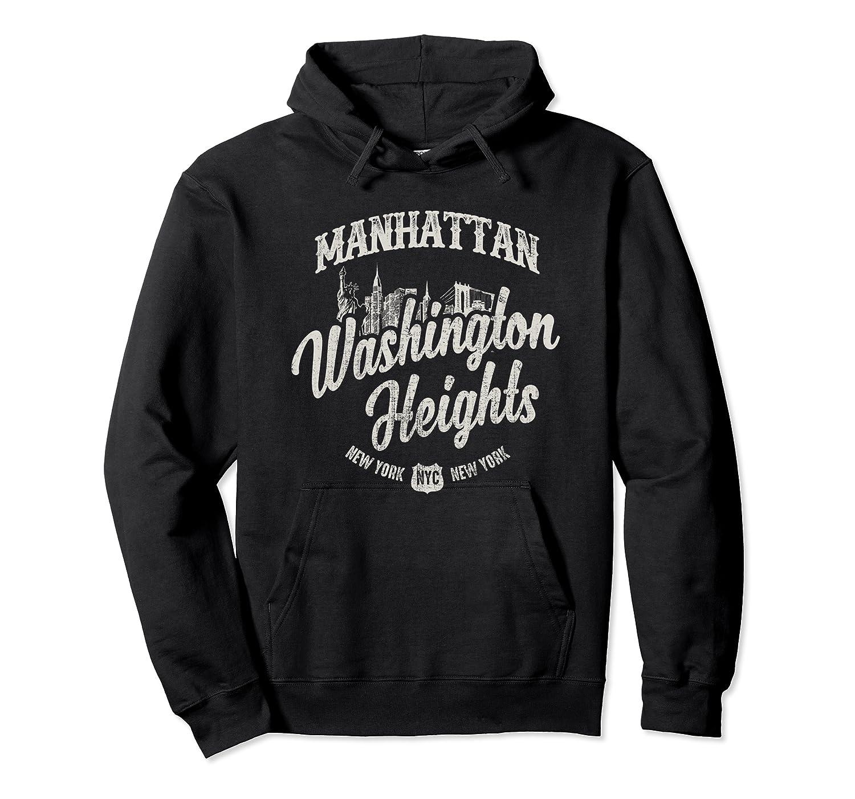New York Manhattan Washington Heights T Shirt Unisex Pullover Hoodie