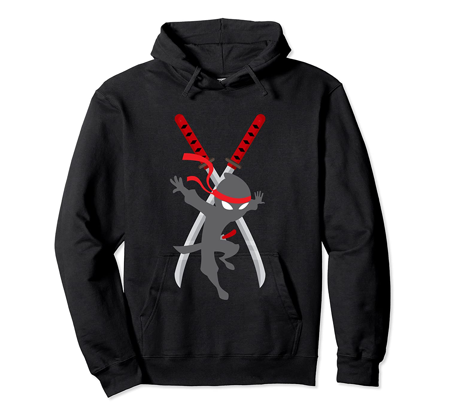 Cwc Chad Wild Ninja Swords T Shirt For Clay Gift Unisex Pullover Hoodie