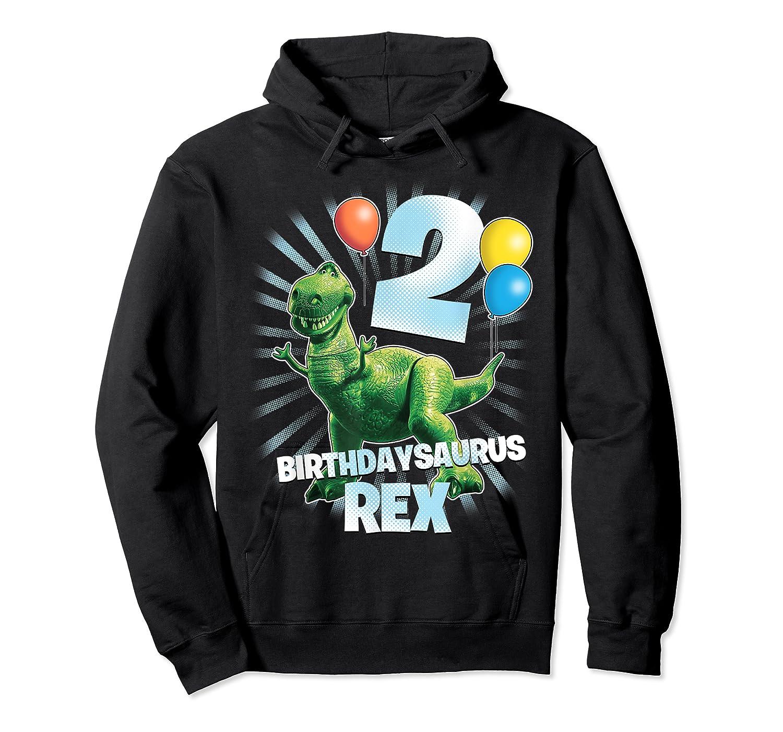 Disney Pixar Toy Story Birthdaysaurus Rex 2nd Birthday T-shirt Unisex Pullover Hoodie