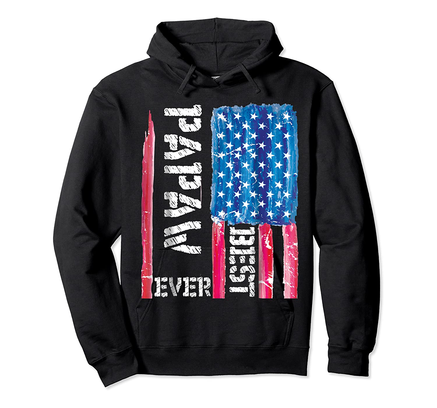 Best Papaw Ever Distressed American Flag For Dad Shirts Unisex Pullover Hoodie