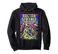 Doctor Strange Mystic Arts Neon Graphic Shirts Hoodie Black