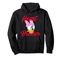 Disney Daisy Heartbreaker T Shirt Hoodie Black