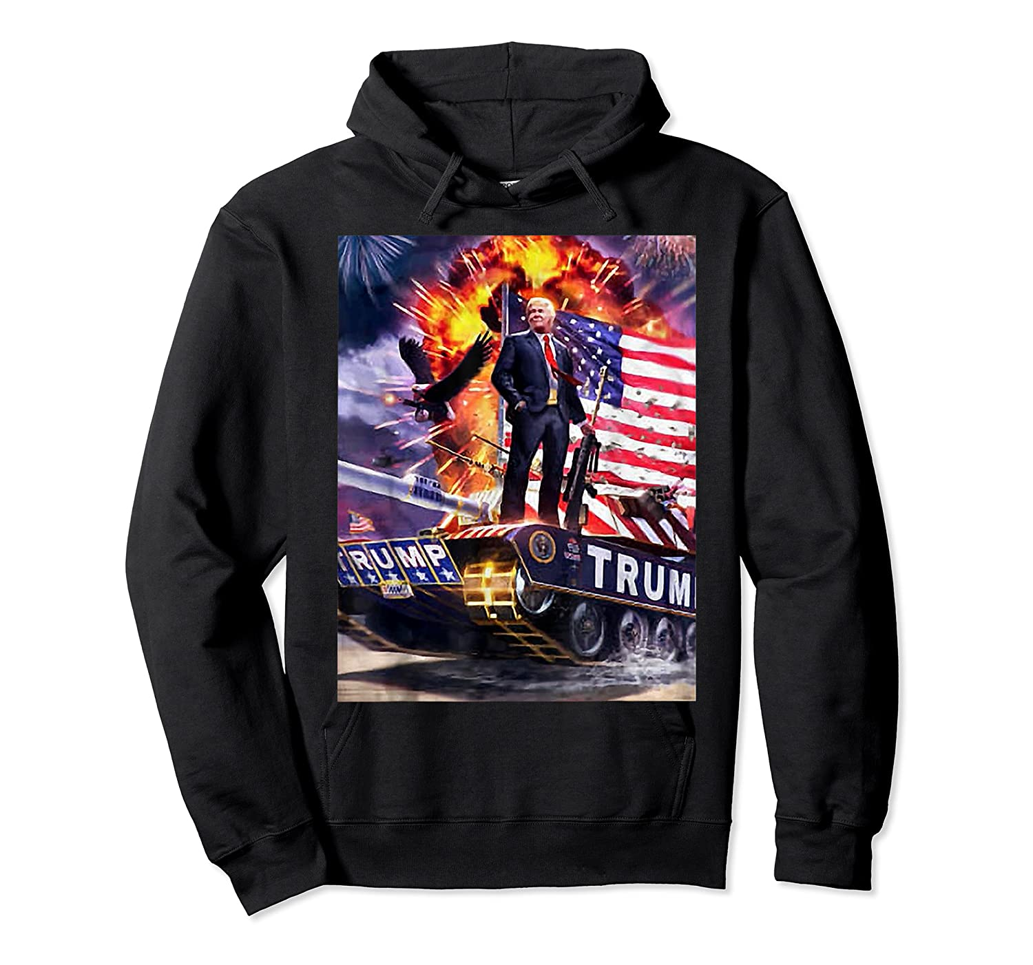 Donald Trump Gold Plated Shirt T-shirt Unisex Pullover Hoodie