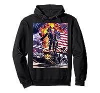Donald Trump Gold Plated Shirt T-shirt Hoodie Black