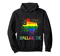 Dallas Texas Lgbt Pride Shirt Hoodie Black