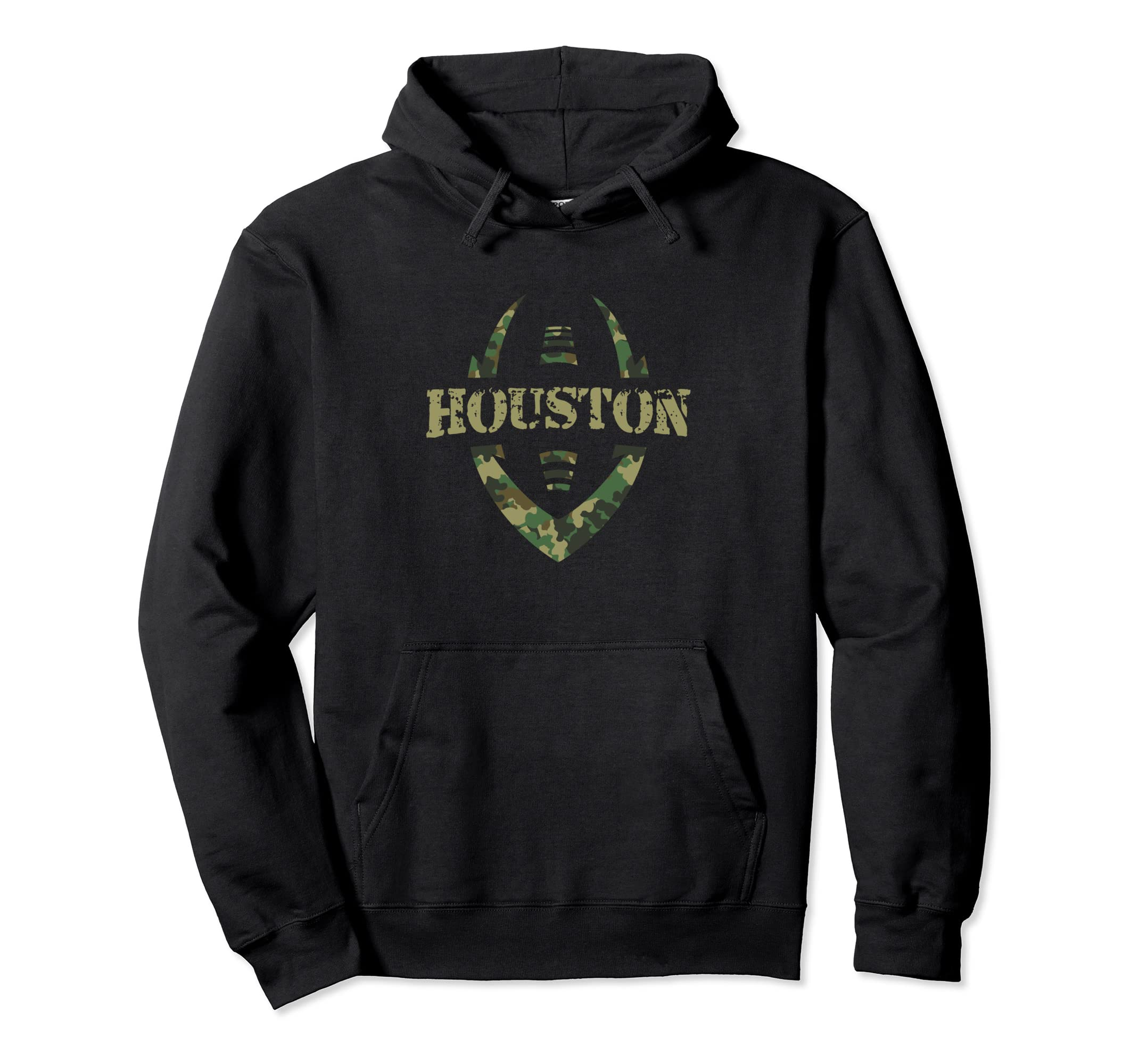 new arrivals 82caf 18593 Amazon.com: Houston Football Salute Military Service Hoodie ...