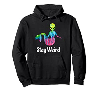 d02f74f6 Image Unavailable. Image not available for. Color: Stay Weird Tie Dye ...