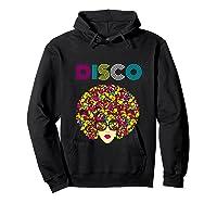 I Love Music Dancer Retro Vintage Disco Ball Disco Gift T Shirt Hoodie Black