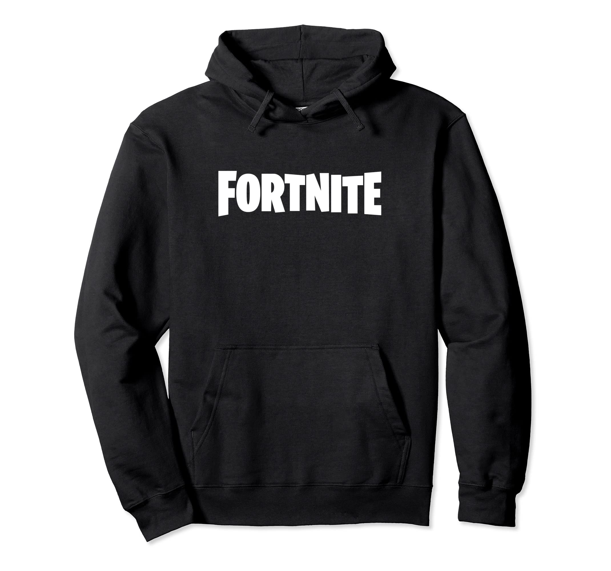 66dc0e3a10e Amazon.com  Fortnite White Logo Hoodie  Clothing