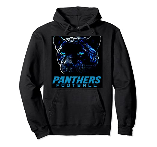 buy online 4648d 63ce0 Amazon.com: Keep Pounding Hoodie NC Panthers Hoodie: Clothing
