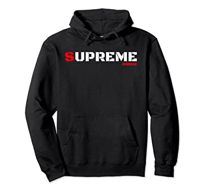 1861d878 Amazon.com: Supreme Rogue Bad Boy Tee Military Style Gaming Gamer Hoodie:  Clothing