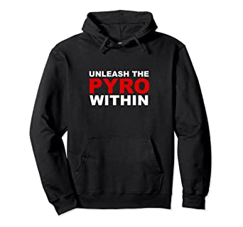1572e883addd1 Amazon.com: July 4th Fireworks Hoodie Unleash the Pyro Within: Clothing