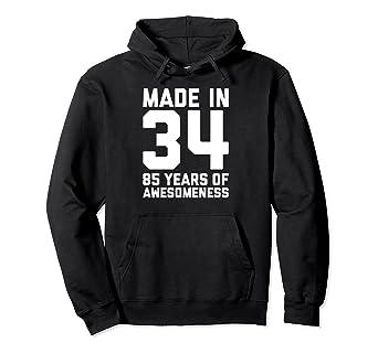 Amazon 85th Birthday Hoodie For Grandma 85 Year Old Women Gifts