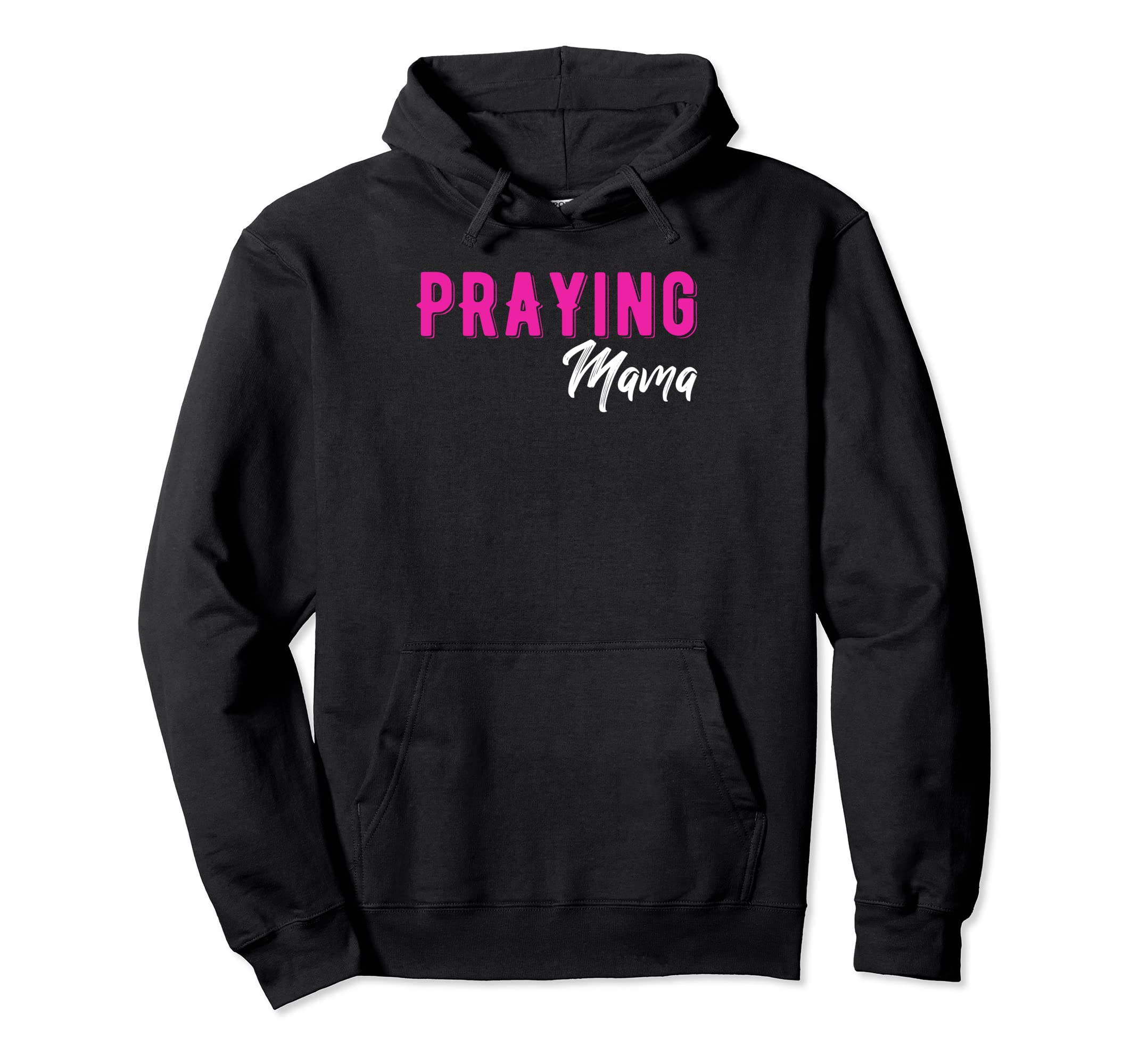 Amazon com: Praying Mama Christian Hoodie Women Empowerment