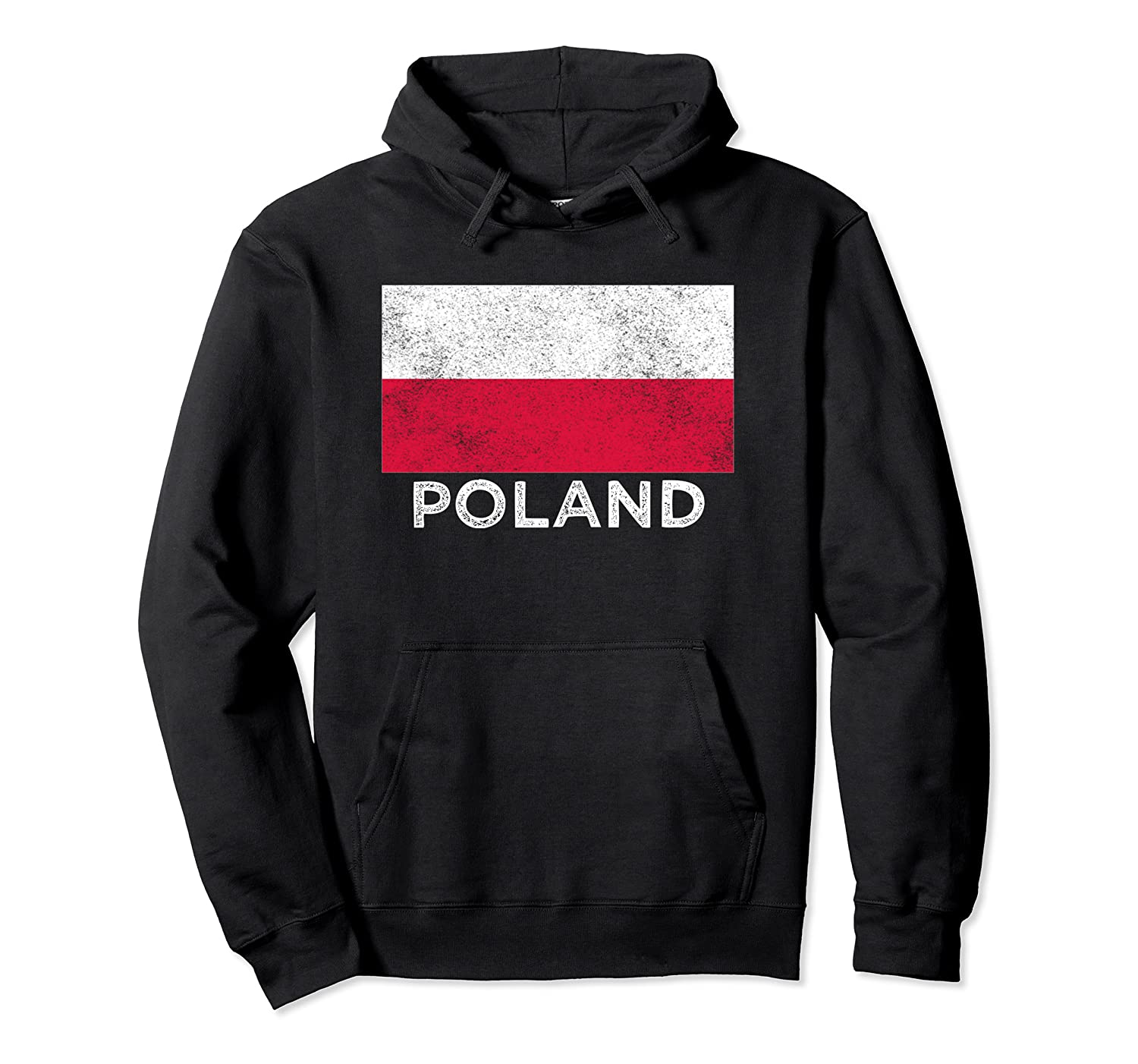 Poland National Flag - Distressed For & Shirts
