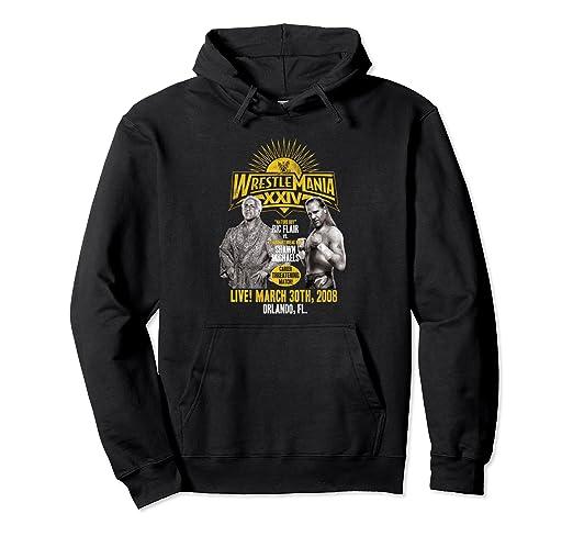 2a61c64484bc8 Amazon.com  WWE WrestleMania Ric Flair vs Shawn Michaels Pullover ...