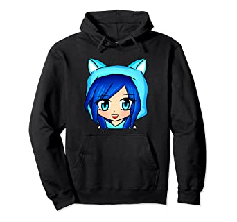 amazon com itsfunneh hoodie clothing
