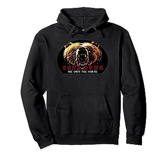 f04831a5 Amazon.com: Bear Down Hoodie Bears Football Mens Women Kids: Clothing