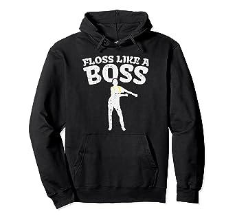 5dd602ebe852 Amazon.com  Floss Like A Boss Hoodie Flossing Dance Backpack Youth ...