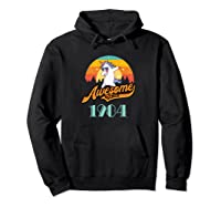Awesome Since 1984 Year Of Birth Birthday Gift Shirts Hoodie Black