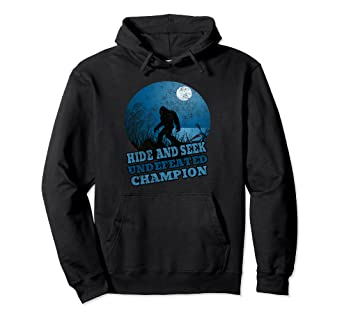 b0f7a2b4 Image Unavailable. Image not available for. Color: Hide & Seek Undefeated World  Champion Bigfoot Sunset Hoodie